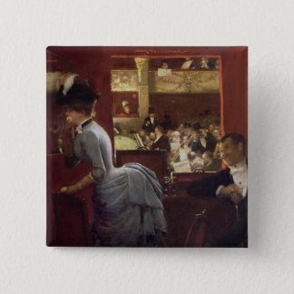 The Box by the Stalls, c.1883 Button