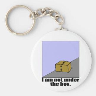 The Box Basic Round Button Keychain