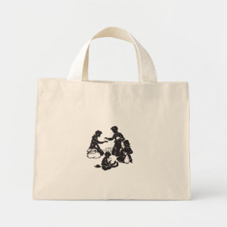 The Boxcar Children: Four Hungry Children Mini Tote Bag