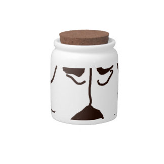 The Boxer Love of My Life Candy Jars