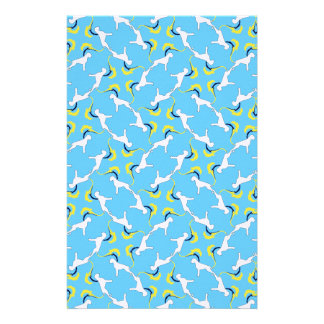 The Boxer Pattern Stationery