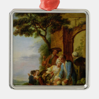 The Boy from Savoy and his Marmot, 1783 Metal Ornament
