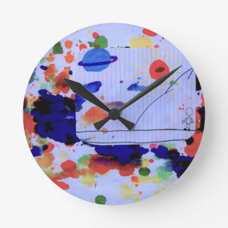 """The Boy & His Universe"" Clock"