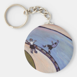 THE BOY WHO FELL IN THE CANAL KEYCHAIN