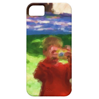 The Boy with the Camera iPhone 5 Case