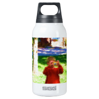 The Boy with the Camera Insulated Water Bottle