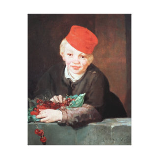The Boy with the Cherries, 1859 Canvas Print