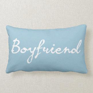 the boyfriend pillow- color customizable! throw pillow