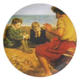 The Boyhood of Raleigh Dinner Plate