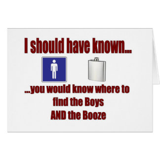 The Boys AND The Booze! Cards