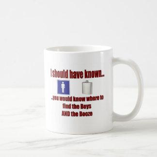 The Boys AND The Booze! Coffee Mug