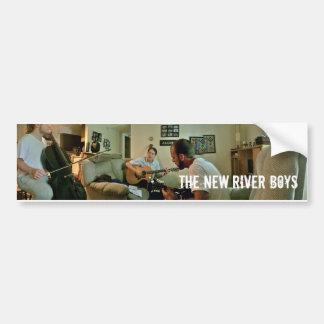 The boys at home. bumper sticker