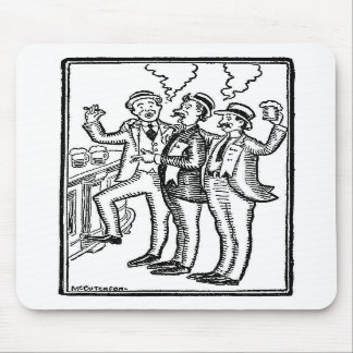 The Boys at the Bar Mousepads