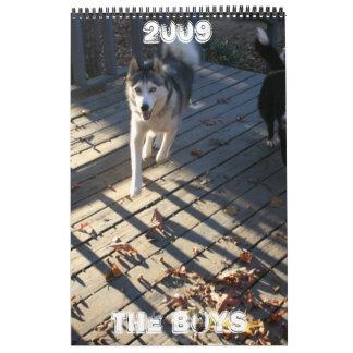 The Boys Calendar