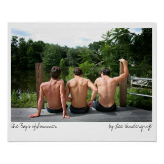 The Boys of Summer by Lee Vandergrift Posters