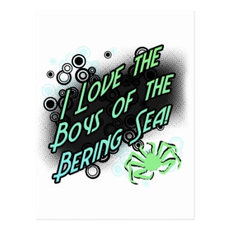 The Boys of the Bering Sea Postcard