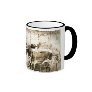 The boys ringer coffee mug