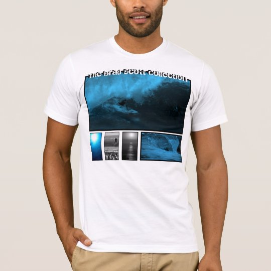The Brad Scott Collection Blue Surf T-shirt