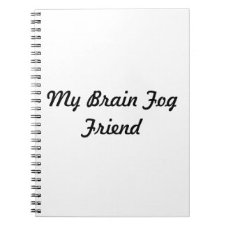 The Brain Fog Friend-Notebook Notebooks
