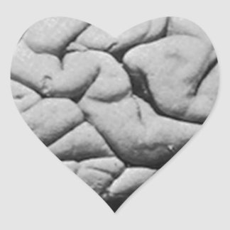 THE BRAIN OF CHARLES BABBAGE (1909) HEART STICKER