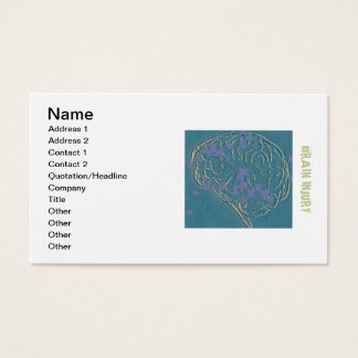 tHE bRAIN pUZZLE Business Card