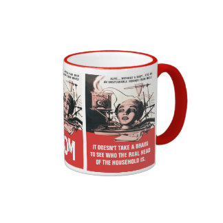 The Brain That Wouldn't Die Ringer Mug