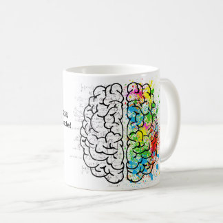 The brain uses 20% of all the oxygen we breathe! coffee mug