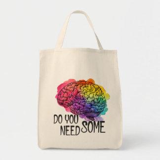 The brainy shopper tote bag