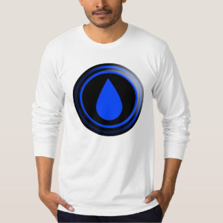 THE BRAND Blue Raindrop T-Shirt