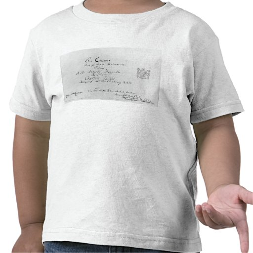 The Brandenburg Concertos, 1721 Shirt