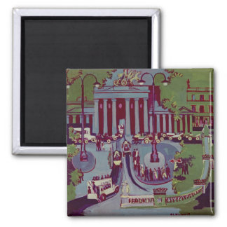 The Brandenburg Gate, Berlin, 1929 2 Inch Square Magnet