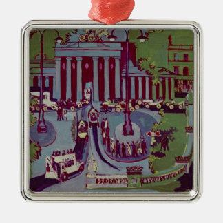 The Brandenburg Gate, Berlin, 1929 Christmas Ornament
