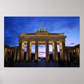 The Brandenburg Gate - Berlin, Germany Poster