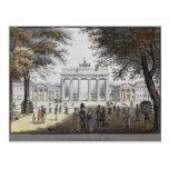 The Brandenburg Gate, Berlin Post Card