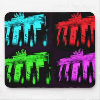 The Brandenburg Gate Collage Mouse Pad