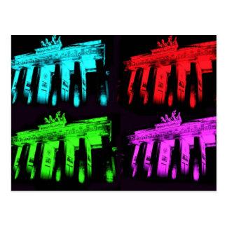 The Brandenburg Gate Collage Postcard