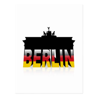 The Brandenburg Gate in Berlin (Germany) Postcard