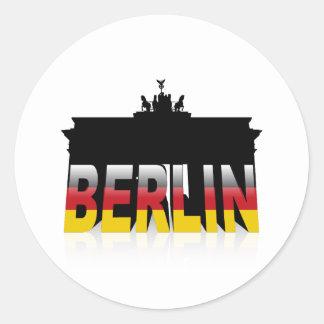 The Brandenburg Gate in Berlin (Germany) Stickers