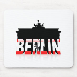 The Brandenburg Gate in Berlin Mouse Pad