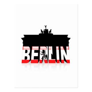 The Brandenburg Gate in Berlin Postcard