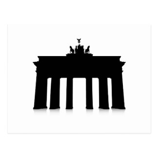 The Brandenburg Gate Postcard