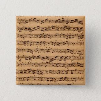 The Brandenburger Concertos, No.5 D-Dur, 1721 Button