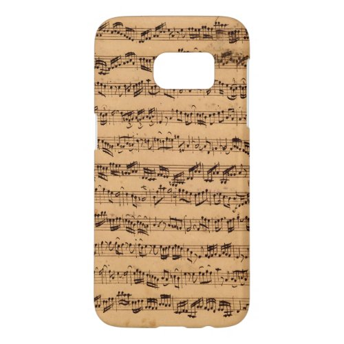 The Brandenburger Concertos, No.5 D-Dur, 1721 Samsung Galaxy S7 Case