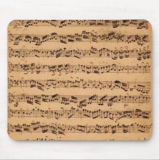 The Brandenburger Concertos, No.5 D-Dur, 1721 Mouse Pad