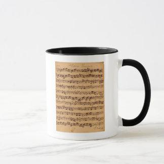 The Brandenburger Concertos, No.5 D-Dur, 1721 Mug