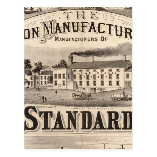The Brandon Manufacturing Company Postcards