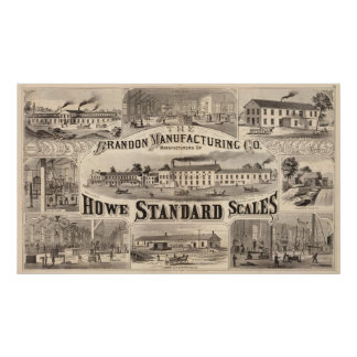 The Brandon Manufacturing Company Poster