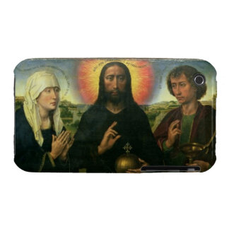 The Braque Family Triptych: (LtoR) St. John the Ba iPhone 3 Case