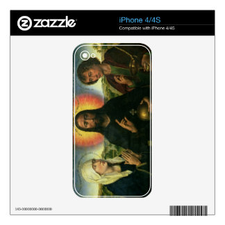 The Braque Family Triptych: (LtoR) St. John the Ba Skins For The iPhone 4