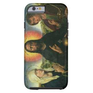The Braque Family Triptych: (LtoR) St. John the Ba Tough iPhone 6 Case
